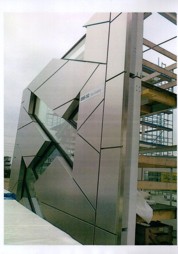Facade elements for UBS, London (UK)