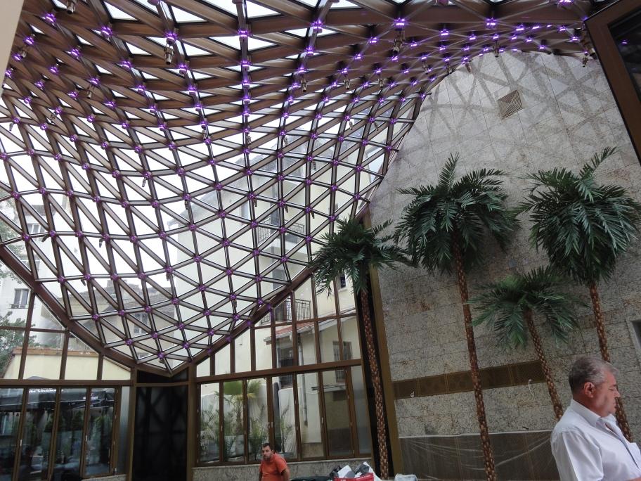 Steel roof construction, Sofia (Bulgaria)
